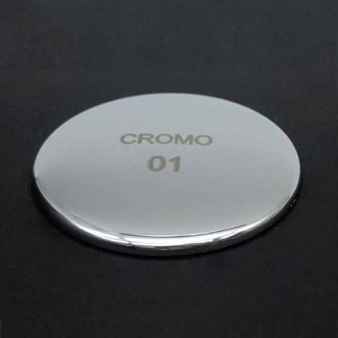 Designerska bateria umywalkowa z mosiądzu z przedłużką 13 cm Made in Italy - Sika