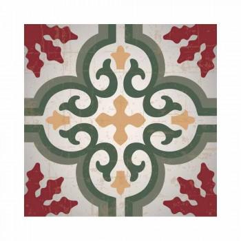 Bieżnik w kolorze czerwonym, czarnym lub zielonym z PVC i poliestru - Coria