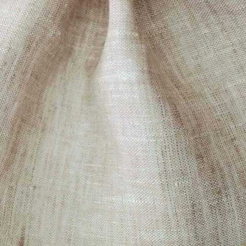 Bieżnik z czystego lnu w kolorze naturalnym Made in Italy - Chiana