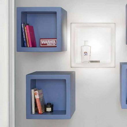 Półka kolorowa Slide Open Cube nowoczesny design