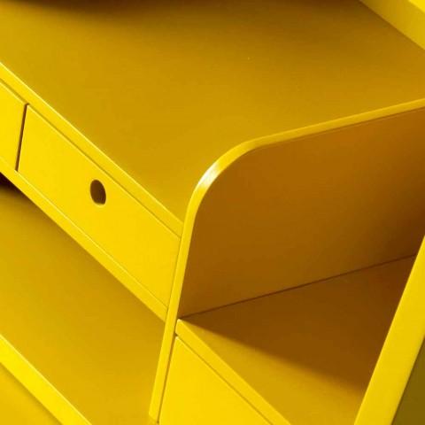 Zaprojektuj wielowarstwowe drewniane biurko Grilli Hemingway wykonane we Włoszech