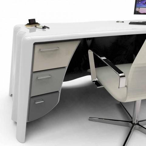 Nowoczesne biuro projektowe biuro tkaniną, Made in Italy