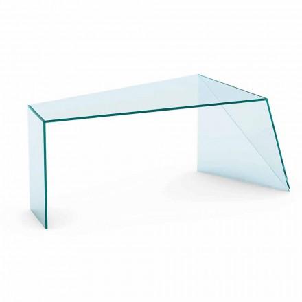Ekstralekkie szkło biurkowe o nowoczesnym designie Made in Italy - Rosalia