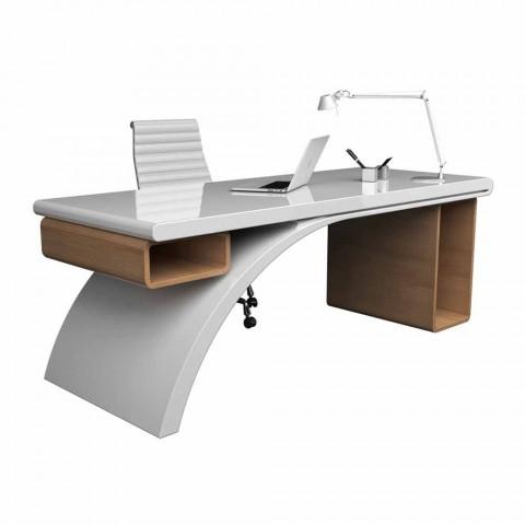 Drewniane biurka i Adamantx® Bridge, wykonane we Włoszech