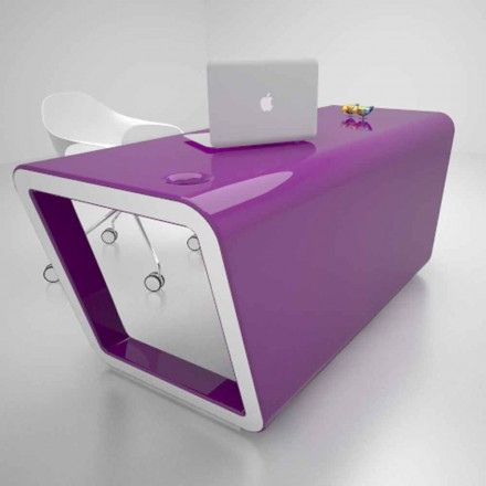 Biurko design Solid Surface® Ego Made in Italy