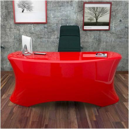 Nowoczesne biurko design Ely, Made in Italy