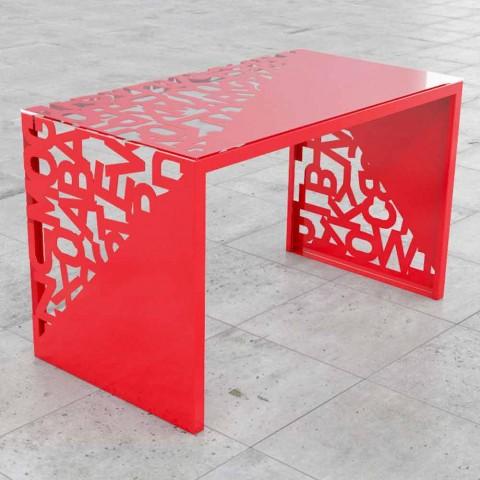 """Biurko Kattedra Letters """"Wodospad"""" 160x80x75 Mabele"""