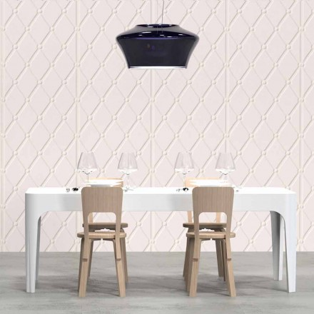 Prostokątny stół/biurko design-Merlot