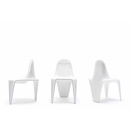 Nowoczesne krzesło F3 firmy Vondom, wykonane z polietylenu, 2 sztuk