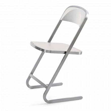 Krzesło ogrodowe do ustawiania w stosy w nowoczesnym stylu Made in Italy - Boston
