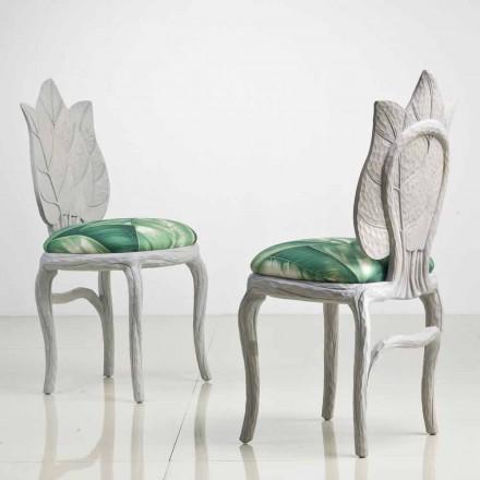 Krzesło nowoczesny design tapicerowane, Daniel made in Italy