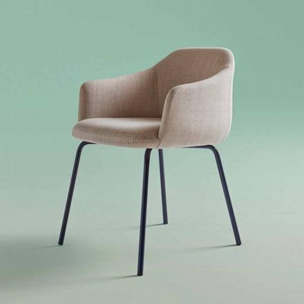 Nowoczesne krzesło do jadalni Made in Italy - Cloe