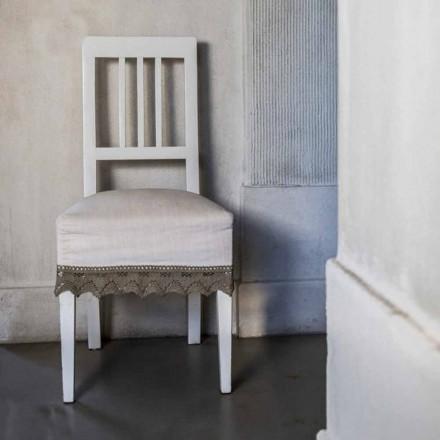 Zaprojektuj krzesło kuchenne, lakierowanym drewnie bukowym, Shirley,2 sztuk