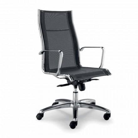 Zaprojektuj krzesło wykonawcze wyprodukowane we Włoszech w sieci Agata