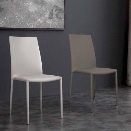 Desio nowoczesne krzesło eko-skórzane do kuchni lub jadalni