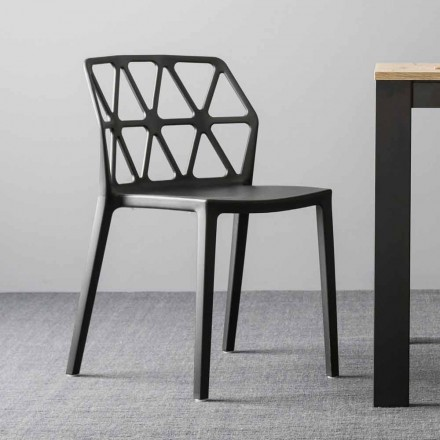 Krzesło polipropylenowe Connubia firmy Calligaris Alchemia wyprodukowane we Włoszech