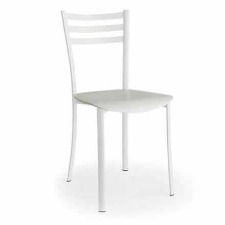 Krzesło z wymiennym siedziskiem z drewna dębowego Made in Italy, 2 sztuk - Ace