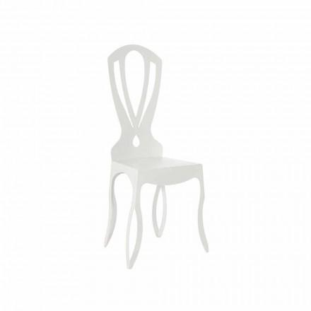 Nowoczesne żelazne krzesło do jadalni Made in Italy - Giunone