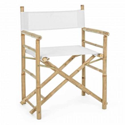 Składane krzesło ogrodowe z naturalnego bambusa - Blumele