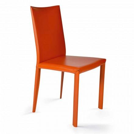 Krzesło do jadalni design wys. 88,5cm Africa, made in Italy