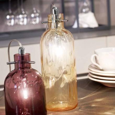 Selene Bossa Nova lampa stołowa średn. 10 x wys. 26 cm, dmuchane szkło