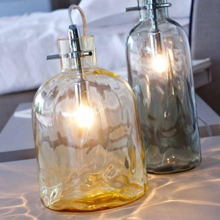 Selene Bossa Nova lampa stołowa średn. 15 x wys. 21 cm, dmuchane szkło