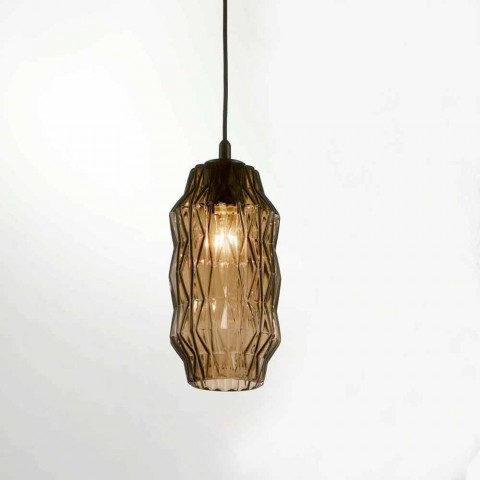 Selene Origami lampa wisząca szklany Ø16 H 30/140 cm