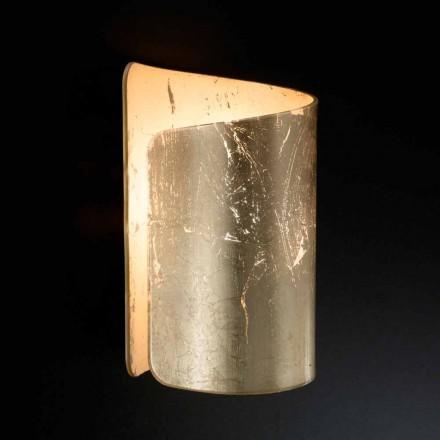 Selene Papiro kinkiet kryształowy design made in Italy