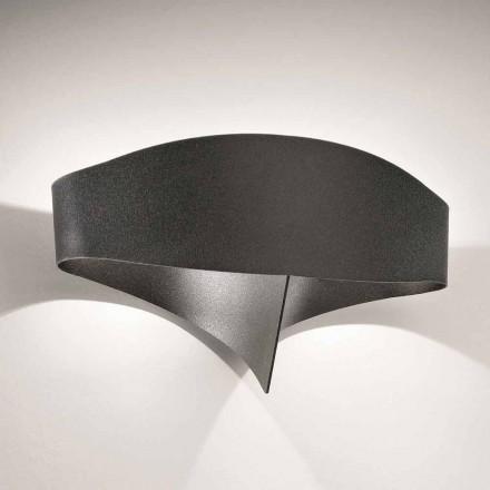 Lampa ścienna Selene Scudo ze stali lakierowanej design