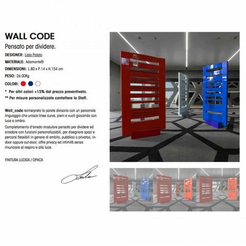 Booth Projekt Nowoczesny Kod ścienna Made in Italy