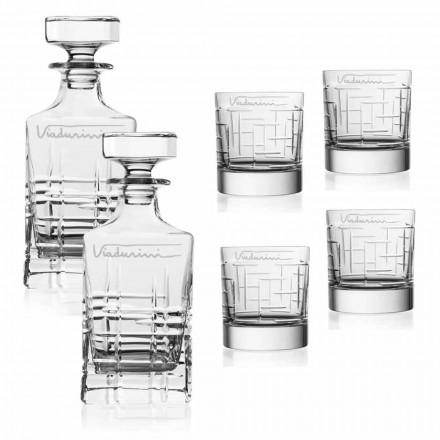 Usługa Crystal Eco Whiskey, z możliwością personalizacji za pomocą logo, 6 sztuk - arytmia