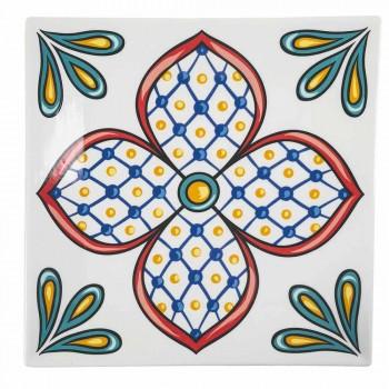 18-częściowy serwis nowoczesnych kolorowych płytek gresowych i porcelanowych - Iglesias