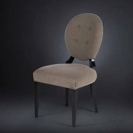 Zestaw 2 krzesła obite Sophia