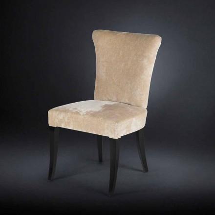Zestaw 2 krzeseł w stylu belle époque kolor Ecru Dita