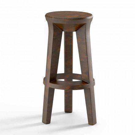 Stołek barowy o wysokim designie z polietylenu Made in Italy - Tinuccia