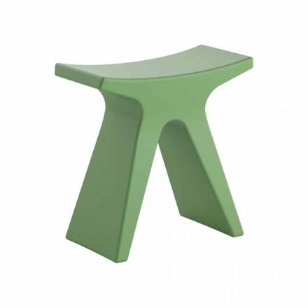 Niski design stołek z polipropylenu Made in Italy - Prue