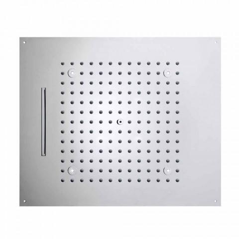 głowica prysznicowa z LED świeci dwie nowoczesne odrzutowce marzenie projekt