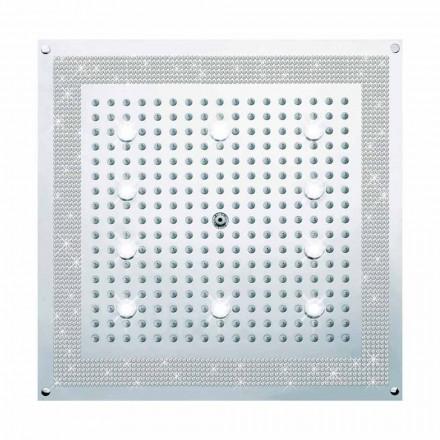 Deszczownica z światłem LED i dekoracją Swarovski Dream - Bossini