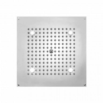 Bossini Deszczownica kwadratowa z światlem LED - 1 strumieniowa od