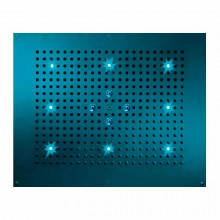Bossini Deszczownica natryskowa z chromoterapią, 2 strumieniowa Dream Neb