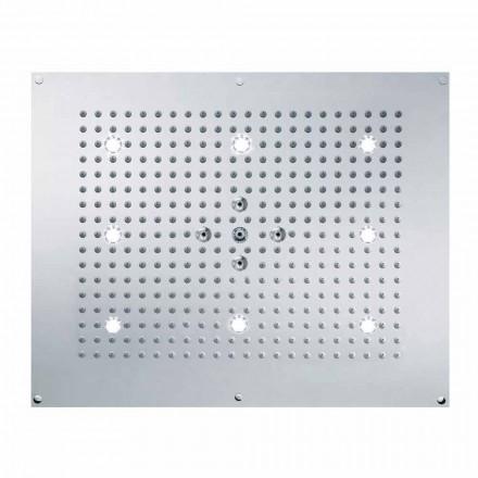 Bossini Deszczownica natryskowa z światłem LED, 2 strumieniowa Dream Neb