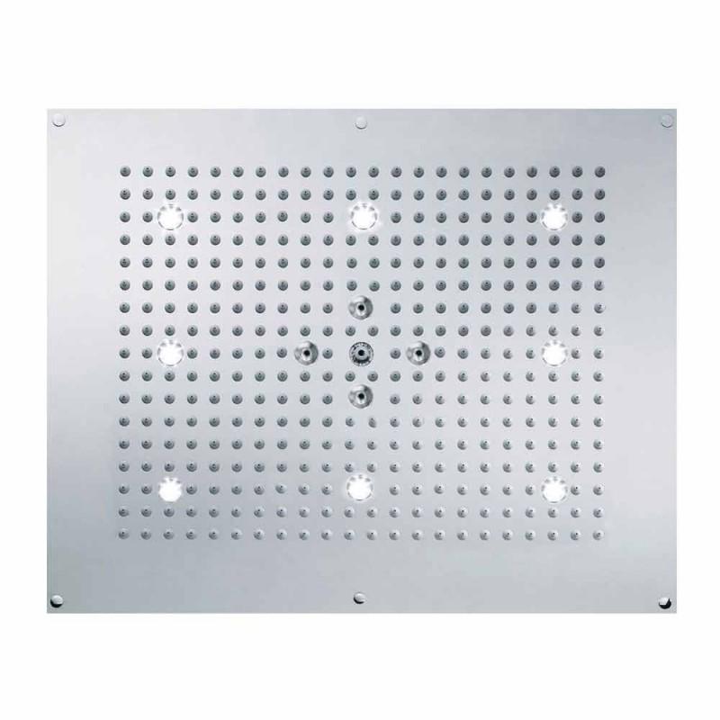 Sufit głowica prysznicowa z LED dwa strumienie Bossini snu Neb