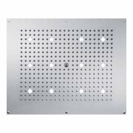 Bossini Deszczownica design-strumień deszczu i światłem LED