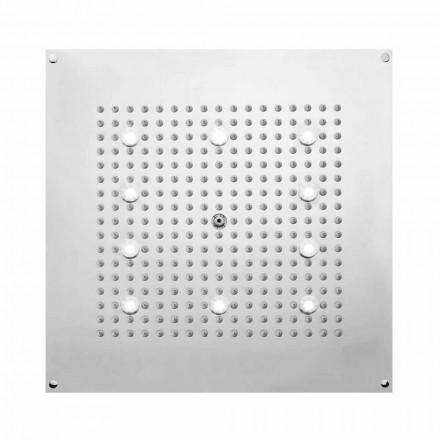 Bossini Deszczownica kwadratowa - strumień deszczu i światłem LED