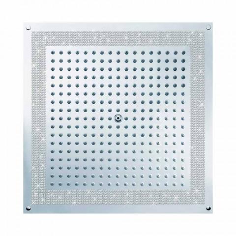 głowica prysznicowa z wkładkami w Swarovski Cube Bossini