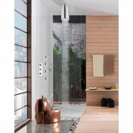 Deszczownica natryskowa z wstawkami Swarovski od Bossini