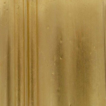 Drewniane lustro ścienne z nowoczesnymi liniami ręcznie we Włoszech Alex