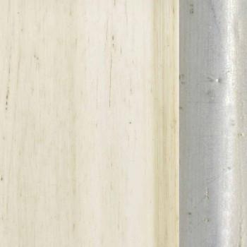 Lustro ścienne z drewna jodłowego, konsola, wyprodukowane we Włoszech
