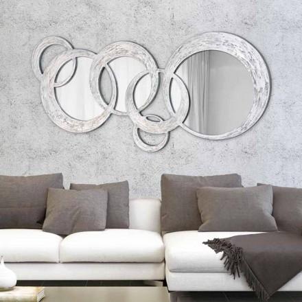 Lustro ścienne nowoczesne Circles by Viadurini Decor