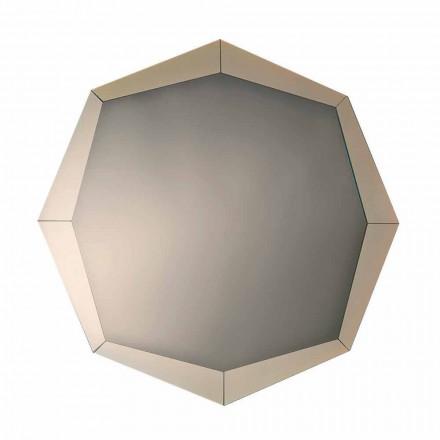 Zaprojektuj lustro w lustrzanym kryształowym wykończeniu Made in Italy - Bolina